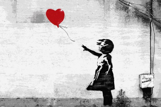 Girl With A Balloon  Artist an Image Credit: Banksy