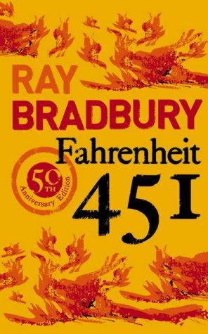 Cover of Fahrenheit 451 by Ray Bradbury - anniversary edition