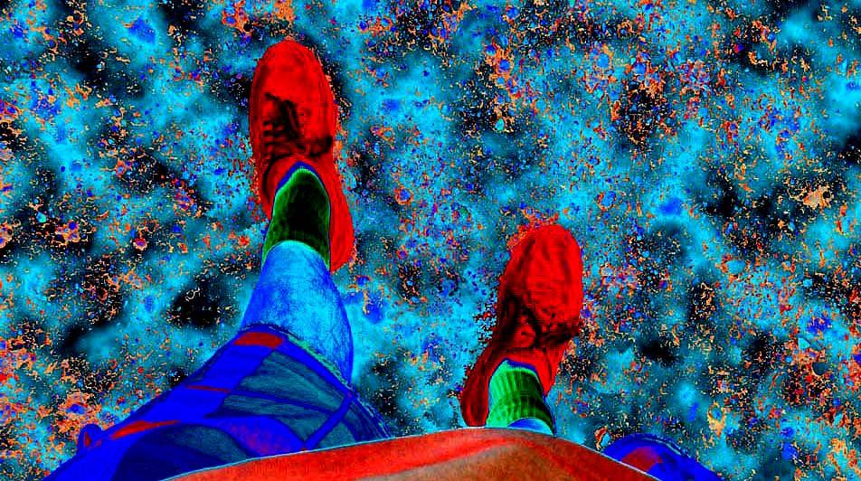 walking across the universe