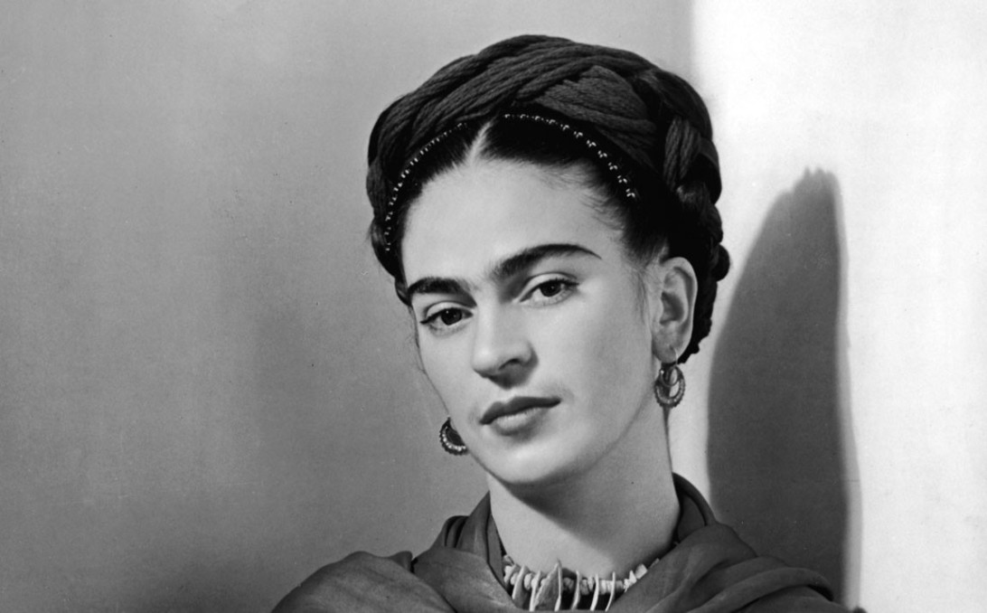 (Caption) Frida Kahlo, 1941 George Eastman House / Hulton Archive / Getty Images